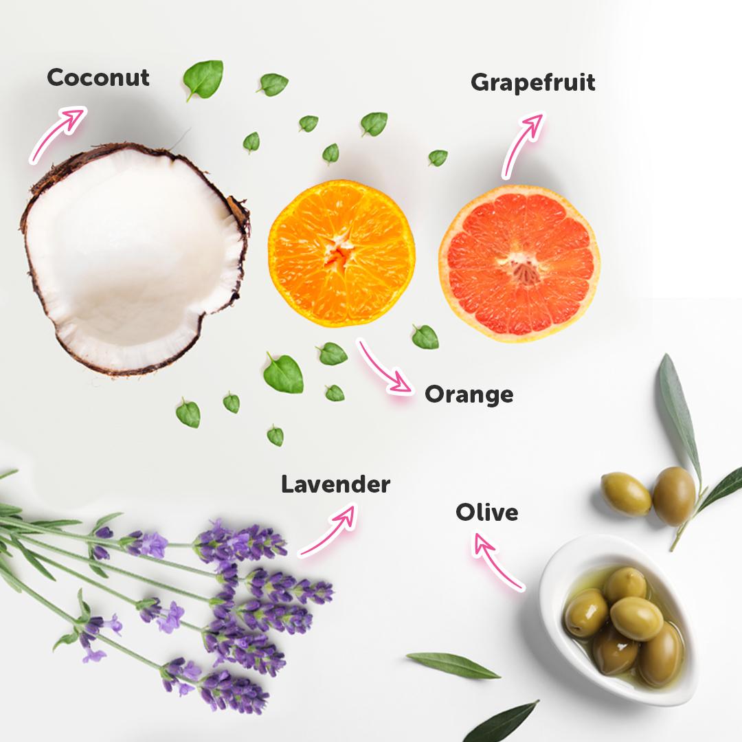 Our prenatal massage oil ingredients
