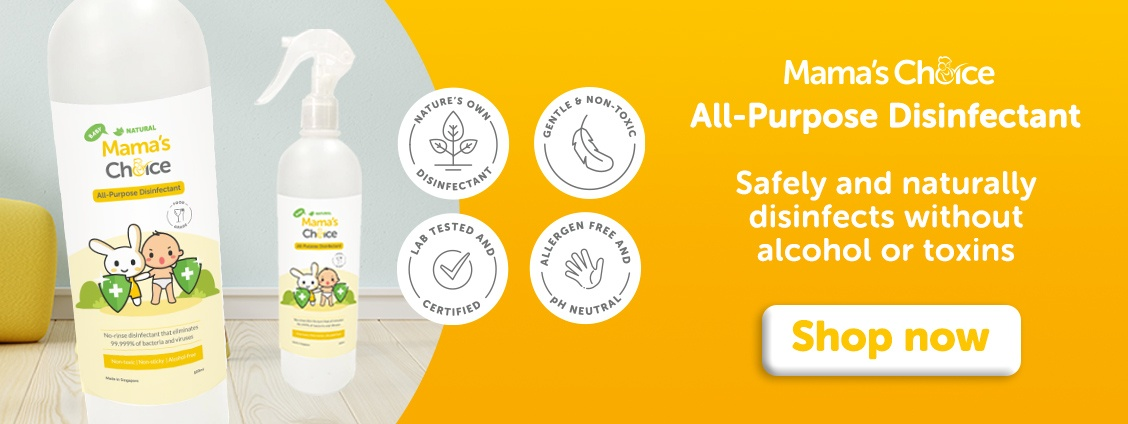 Baby-Safe Disinfectant | Mama's Choice All-Purpose Disinfectant