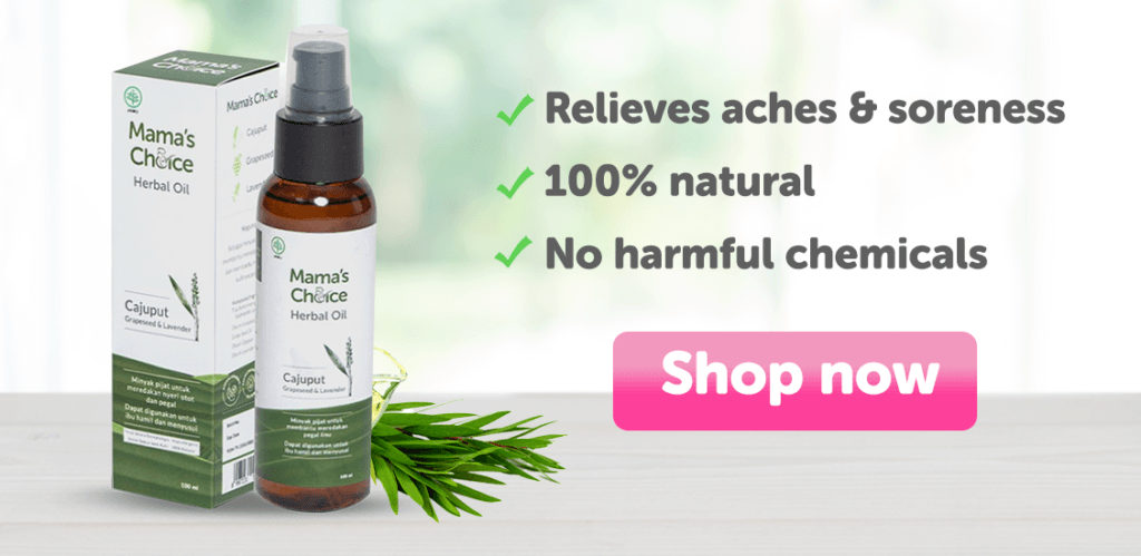 Mama's Choice Herbal Oil | Natural body massage oil