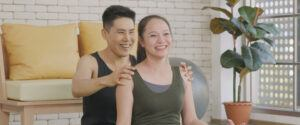 Oxytocin massage for breastfeeding