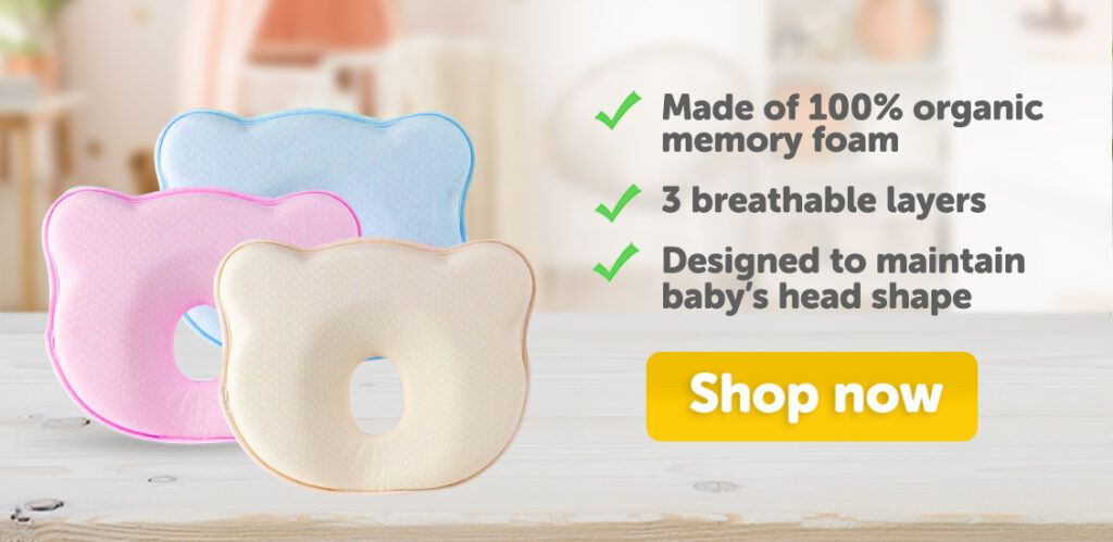 Mama's Choice Flat Head Prevention Pillow | Baby Pillow