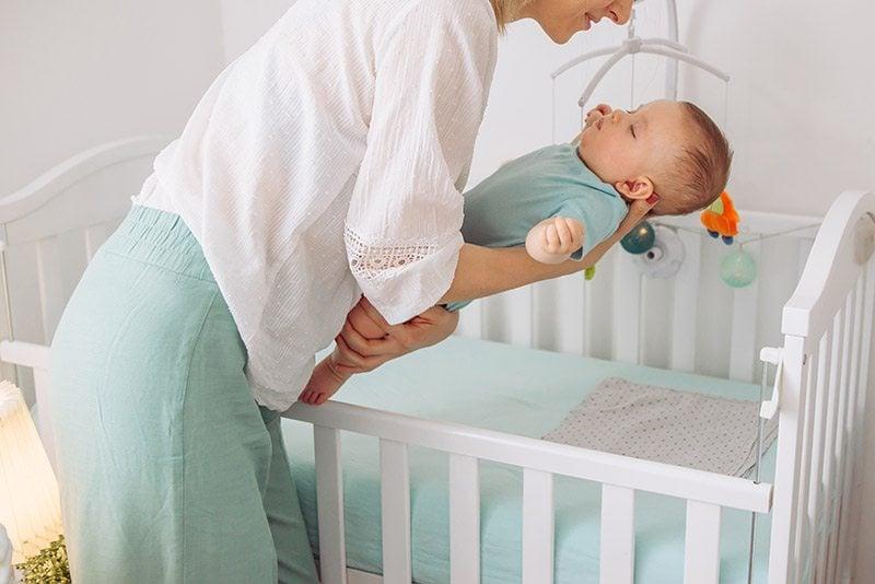Safe baby sleep environment