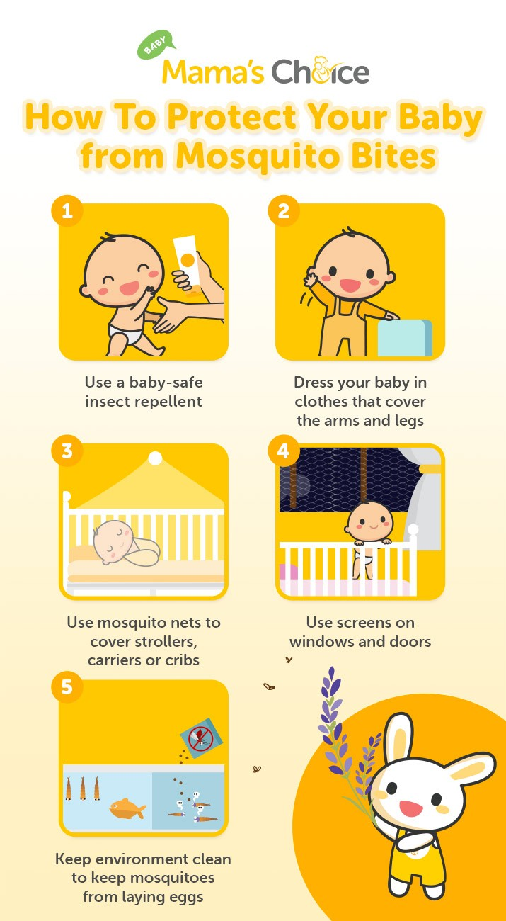 How to protect your baby from mosquito bites