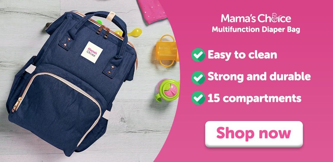 Mama's Choice Multifunction Diaper Bag