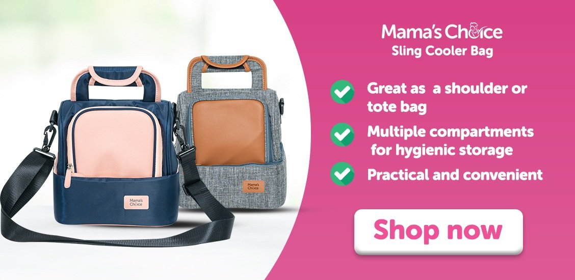Mama's Choice Sling Cooler Bag   Breast Milk Bag